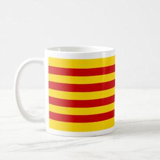 mug cup Catalan flag