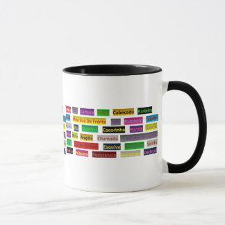 mug cup coffee Capoeira techniques