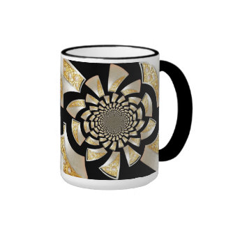 Mug Cup Gold Black Pearl 5 Mugs