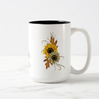 Mug Cup Sunflowers Floral Mugs