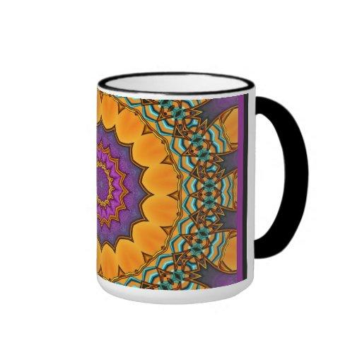 Mug Cup ZIZZAGO Kaleidoscope 2 Coffee Mugs