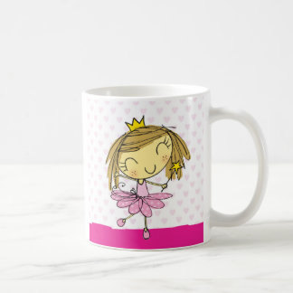 ♥ MUG ♥ Cute Pink Princess Ballet girl