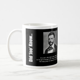 "Mug: ""Did Joo Know..."" - Dvorak Coffee Mug"