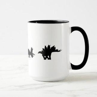 Mug dinossauros