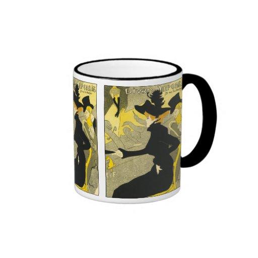 Mug: Divan Japonais by Toulouse-Lautrec