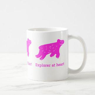 """Mug """"Explorer at heart"""""""