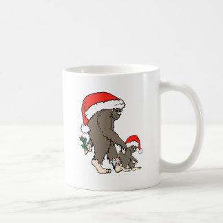 Mug Famille de Bigfoot de Noël