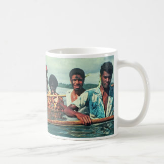 "Mug, ""Fishing at Naivuruvuru Village, Fiji"" Coffee Mug"
