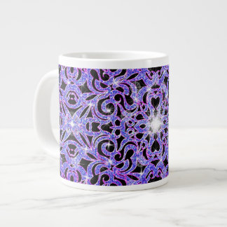 Mug Floral abstract background