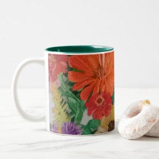 Mug - flowers to brighten your mornings