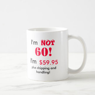 Mug for a 60th birthday