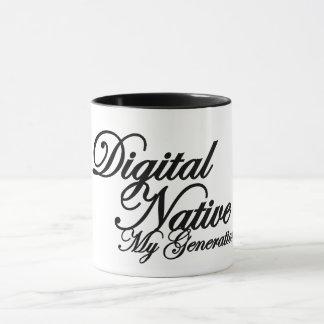 Mug for DIGITAL NATIVE