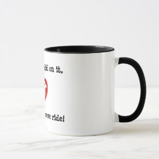 Mug for Hardcore Horseback Riders