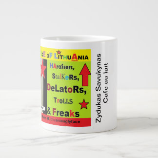 Mug for Lithuanian nationalist trolls.