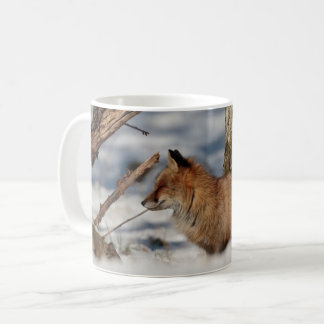 Mug: Fox in Snow Coffee Mug
