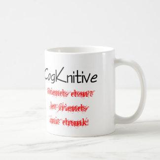 Mug--friends don't let friends... coffee mug
