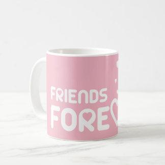 Mug Friends Forever Rosa