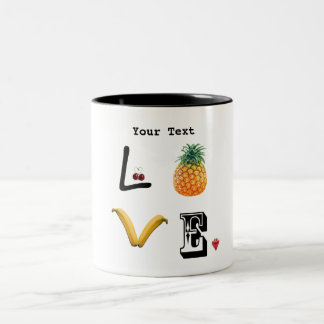 Mug fruit Love