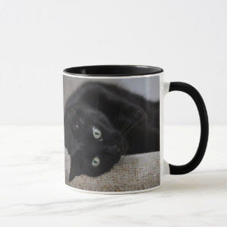 Mug Furry Friend- EBONY Cat/ Black
