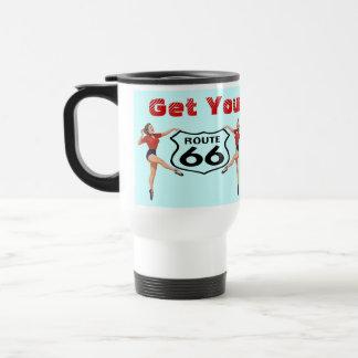 Mug Get Your Kicks On Route 66 Road Trip Nostalgia