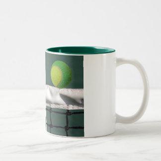 Mug green Tennis