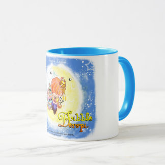 Mug handle blue Maurice firefly sings with the