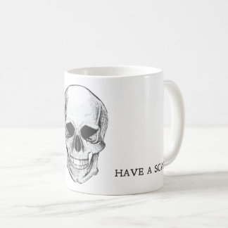 Mug Have Skull the Scary