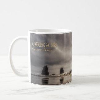 Mug: Haystack Rock And Needles Basic White Mug