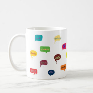 "Mug ""hello"" in different languages"