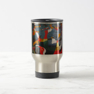 Mug-Hirondelle Amour (Joan Miro) (1934) Travel Mug
