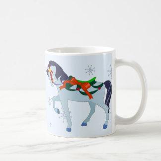 Mug - Holiday Carousel Horse