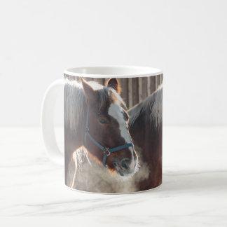 Mug: Horses in the Cold Coffee Mug