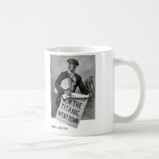 Mug - How The Titanic Went Down