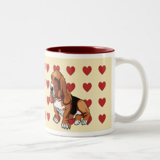Mug - I Love Basset Hounds