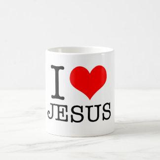 mug I LOVE JESUS
