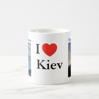 Mug. I love Kiev. Ukraine Coffee Mug