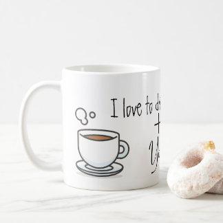 "Mug ""I Love you the Drink Coffee + You"" 325ml"