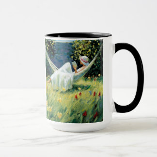 "Mug ""In The Garden"" by Artist  Paul Milner"