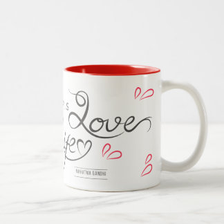 Mug in two Where tones there IS Love