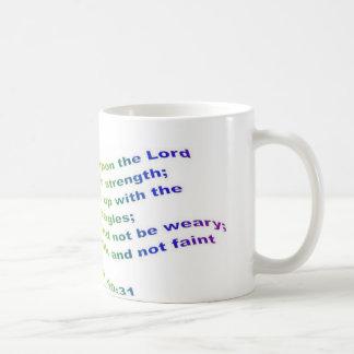 Mug: Isaiah 40:31 Coffee Mug