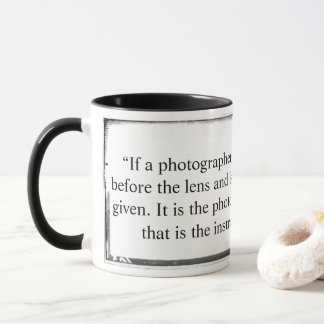 Mug It is the photographer not the camera Arnold