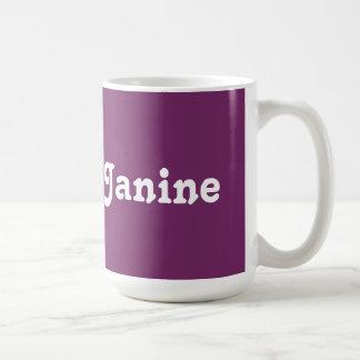 Mug Janine