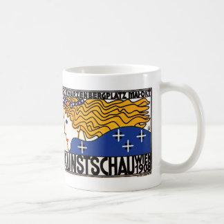 Mug: Kunstschau Wien by Loffler Coffee Mug