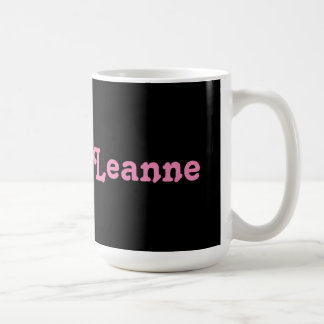 Mug Leanne