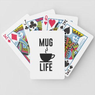 Mug Life Bicycle Playing Cards