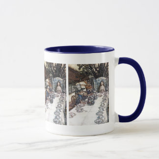 Mug: Mad Hatter Tea Party - Alice in Wonderland Mug