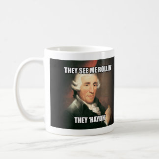 "Mug: ""Meme"" - Haydn Coffee Mug"