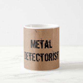 Mug: Metal Detectorist (Treasure Map) Coffee Mug