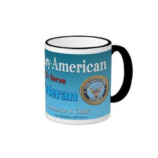 Mug, Military Veteran Ringer Mug
