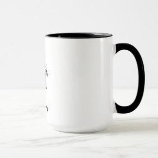 Mug mistletoe URINES ME (kiss me)